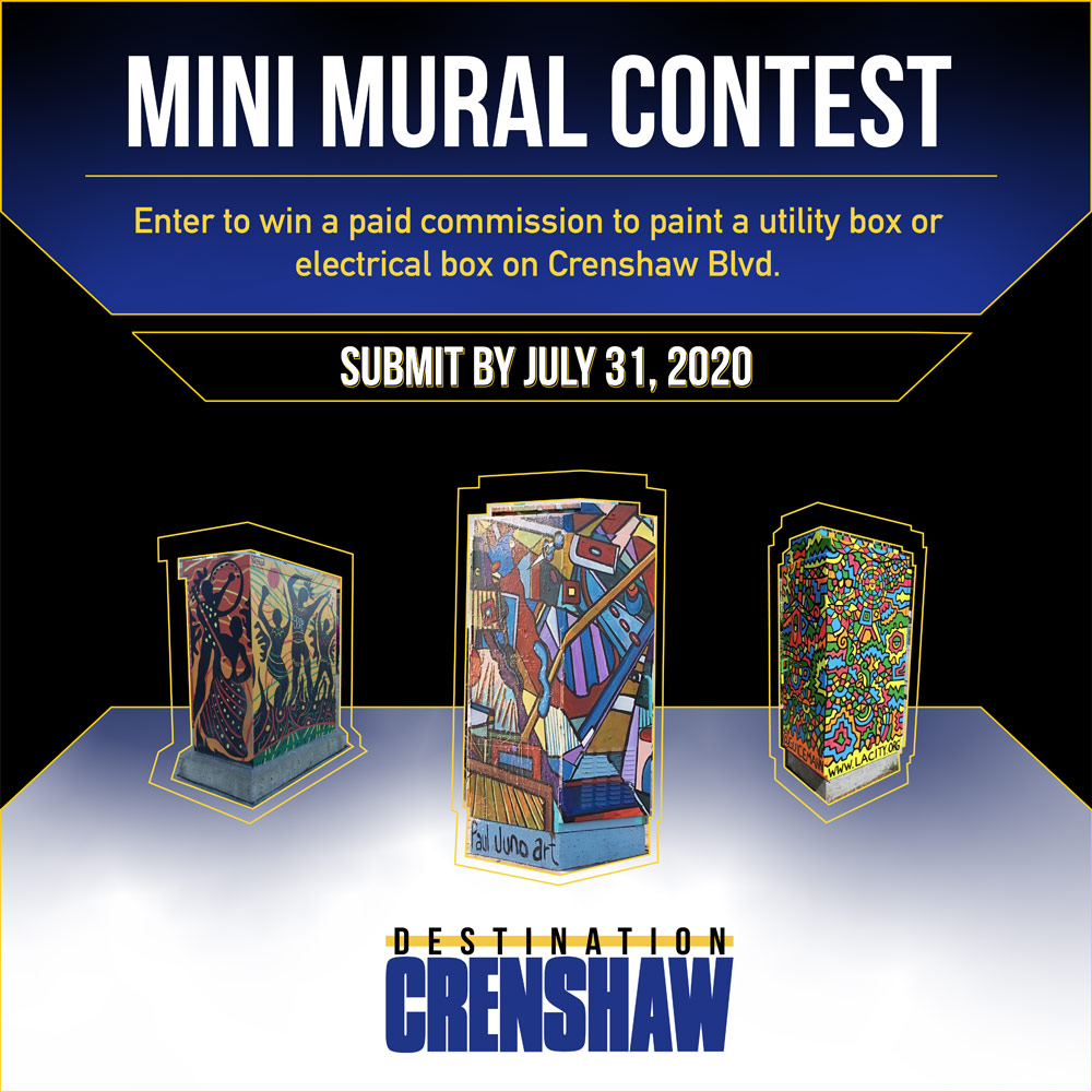 Crenshaw Mini Mural Contest