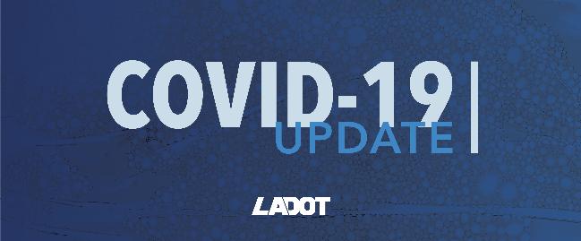 dot covid 19 update
