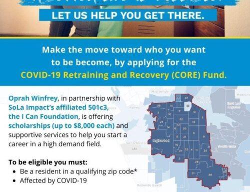 Apply for a Retraining Scholarship