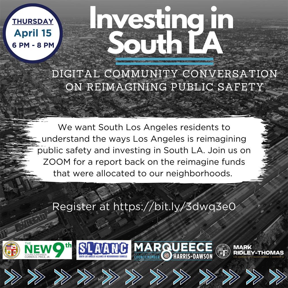 Community Conversation on Reimagining Public Safety