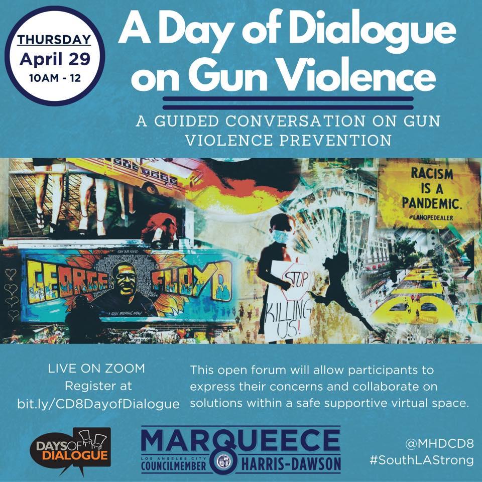 dialogue on gun violence