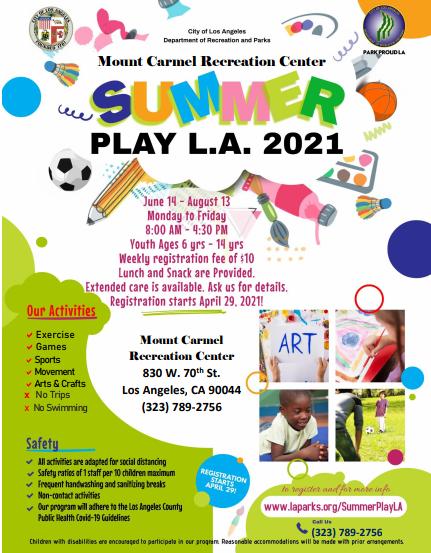 Mt. Carmel summer program